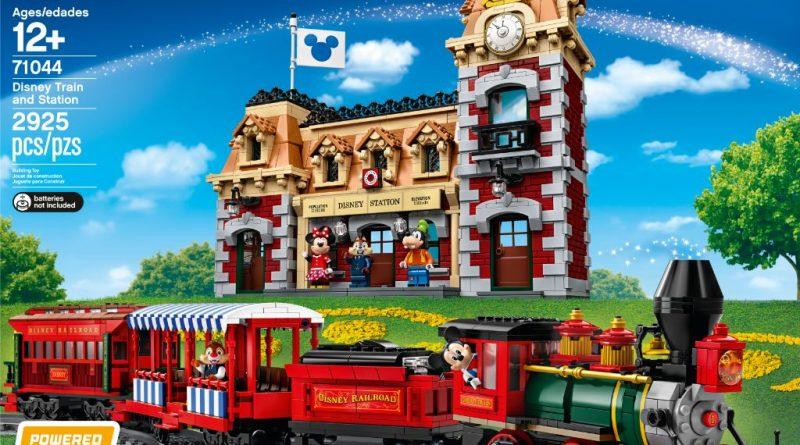 LEGO Disney 71044 Disney Train And Station 19 800x445