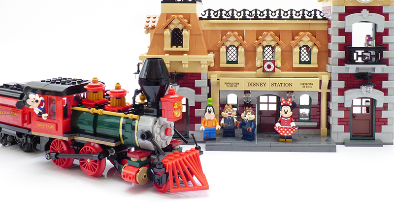 LEGO Disney 71044 Disney Train Review Featured 800 445