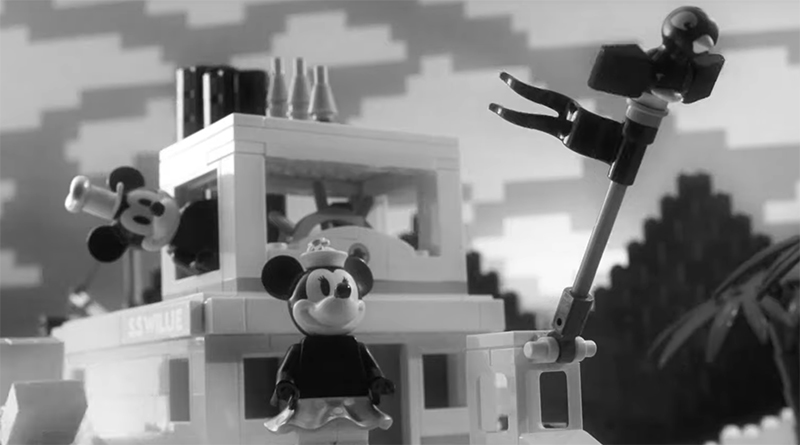 LEGO Ideen Disney 7 Steamboat Willie Stop-Motion