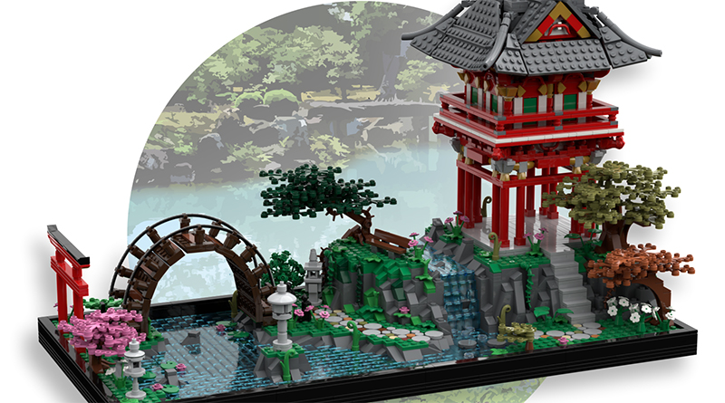 LEGO Ideas Japanese Garden Featured 800 445