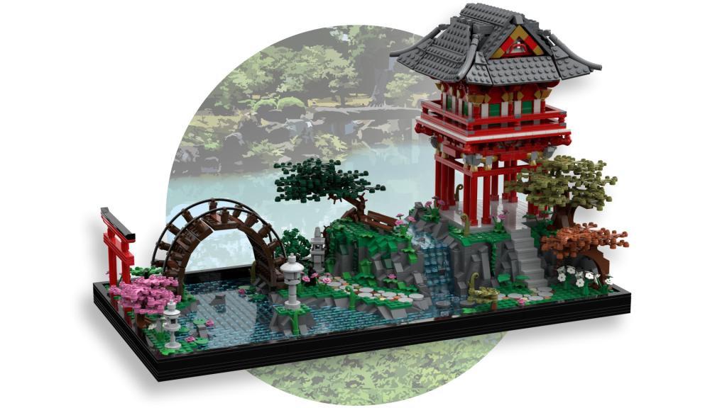 LEGO Ideas Japanese Tea Garden 1024x576