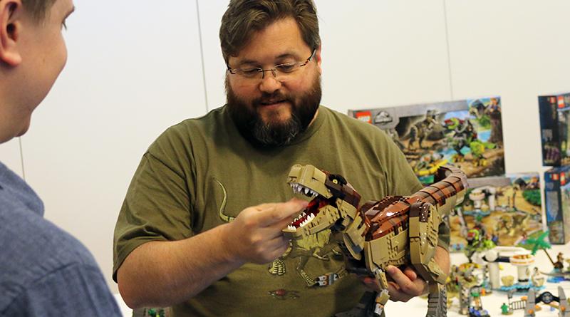 LEGO Jurassic Park Mark Stafford Interview Featured 800 445