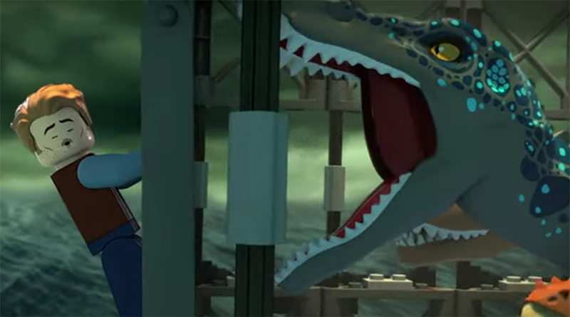 LEGO Jurassic World Animated Trailer Featured 800 445