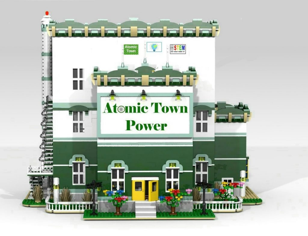 LEGO MOC Atomic Town Power 1024x786