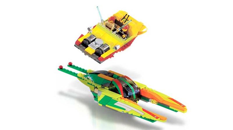 LEGO Star Wars 7133 Bounty Hunter Pursuit Featured 800 445