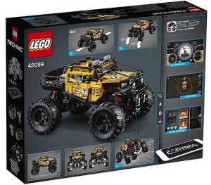 LEGO Technic 42099 4x4 X Treme Off Roader 2 300x263