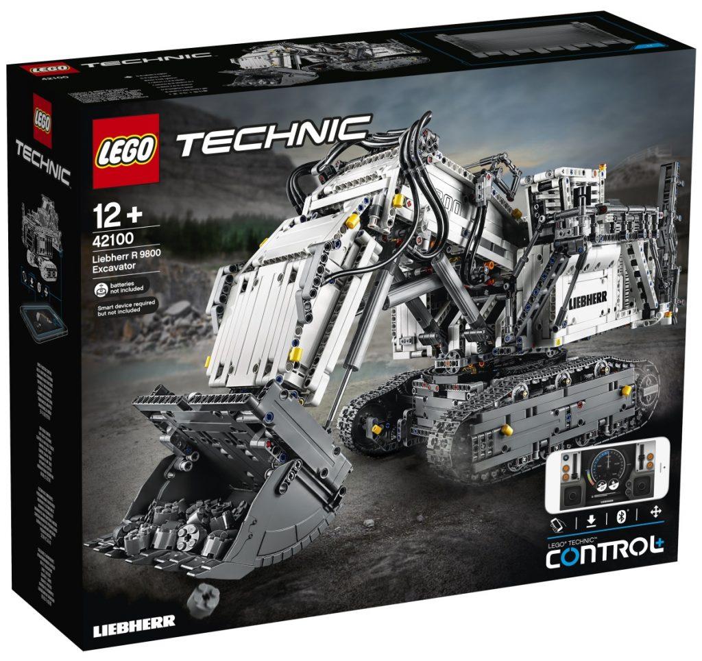 LEGO Technic Liebherr R 9800 Excavator 1 1024x964