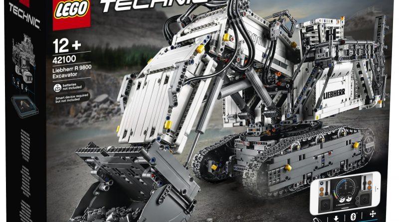 LEGO Technic Liebherr R 9800 Excavator 1 800x445