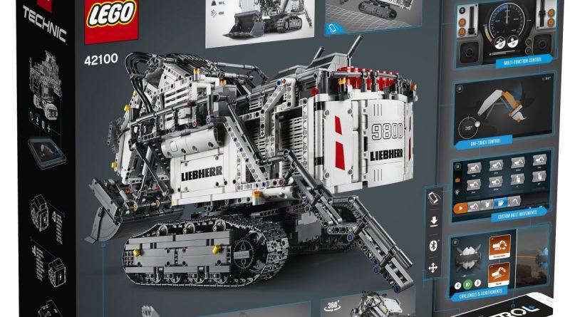 LEGO Technic Liebherr R 9800 Excavator 2 800x445