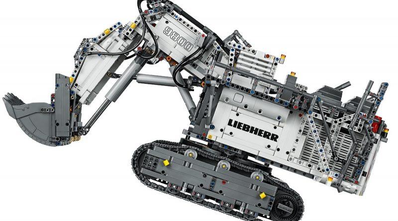 LEGO Technic Liebherr R 9800 Excavator 5 800x445