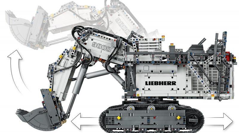 LEGO Technic Liebherr R 9800 Excavator 7 800x445