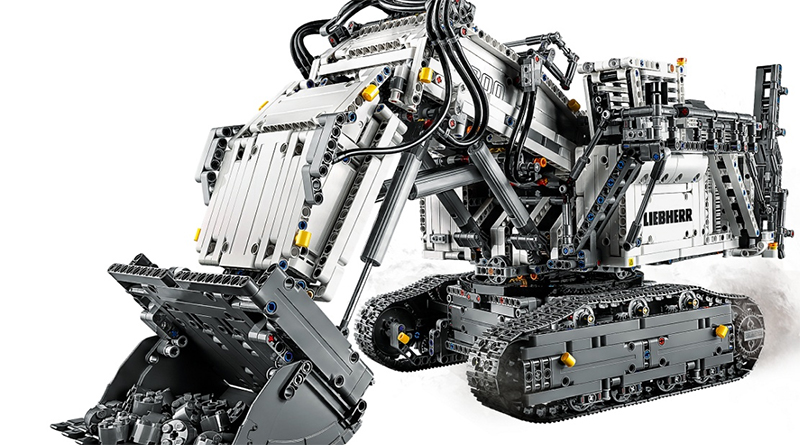 LEGO Technic Liebherr R 9800 Excavator Featured 800 445