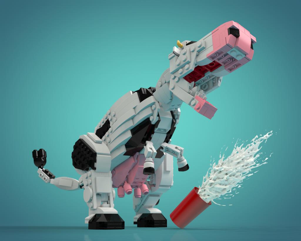 LEGO TyrannoCow 1024x819