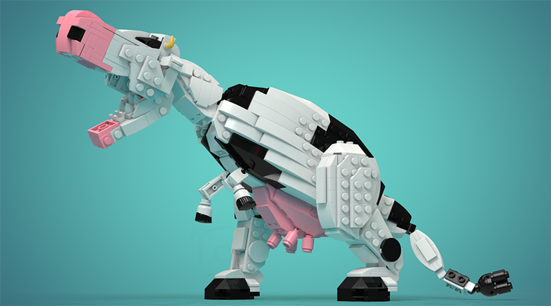 LEGO TyrannoCow Featured 800 445