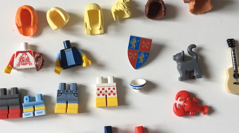 LEGO Exclusive Minifigure Parts Featured 800 445
