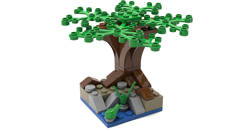 LEGO Make And Take Tree Featured 800 445