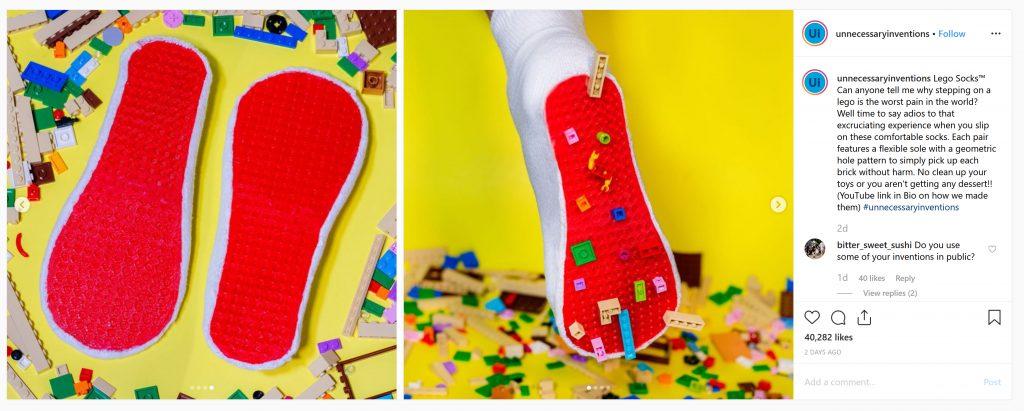 LEGO Socks 1024x411