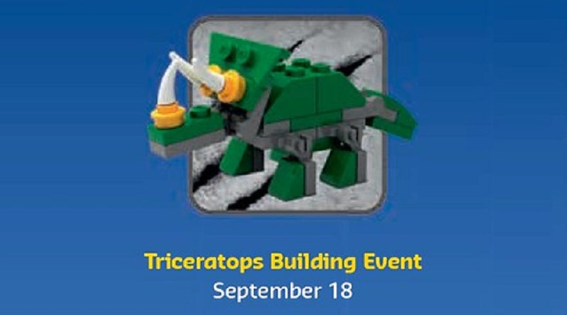 LEGO Triceratops Make And Take Featured 800 445