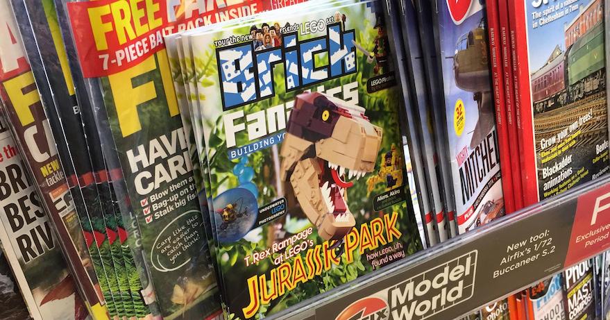 Brick Fanatics Magazine Issue 10 UK Stores