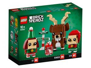 LEGO BrickHeadz 40353 Reindeer Elf Elfie 1 300x225