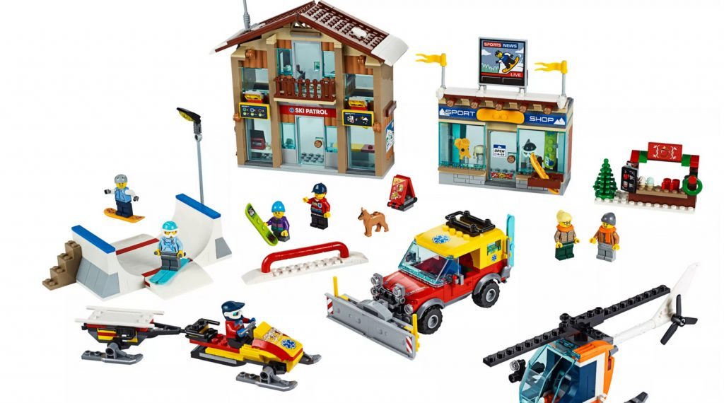 LEGO City 60203 Ski Resort Featured 800 445