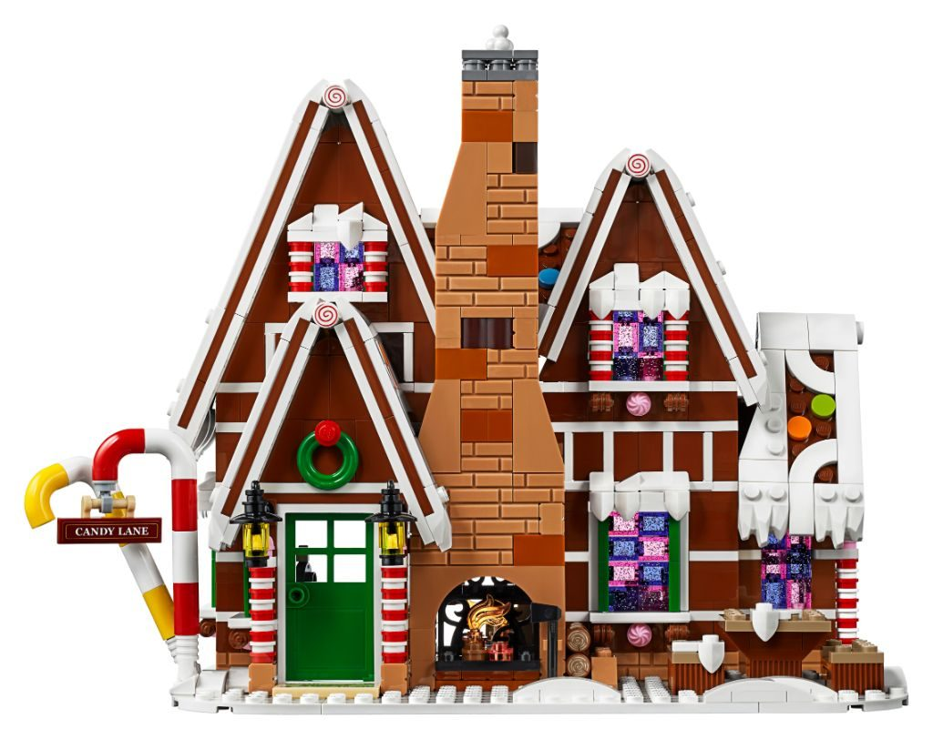 LEGO Creator Expert 10267 Gingerbread House 38 1024x812