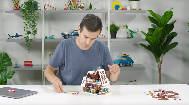 LEGO Creator Expert 10267 Gingerbread House Video Featured