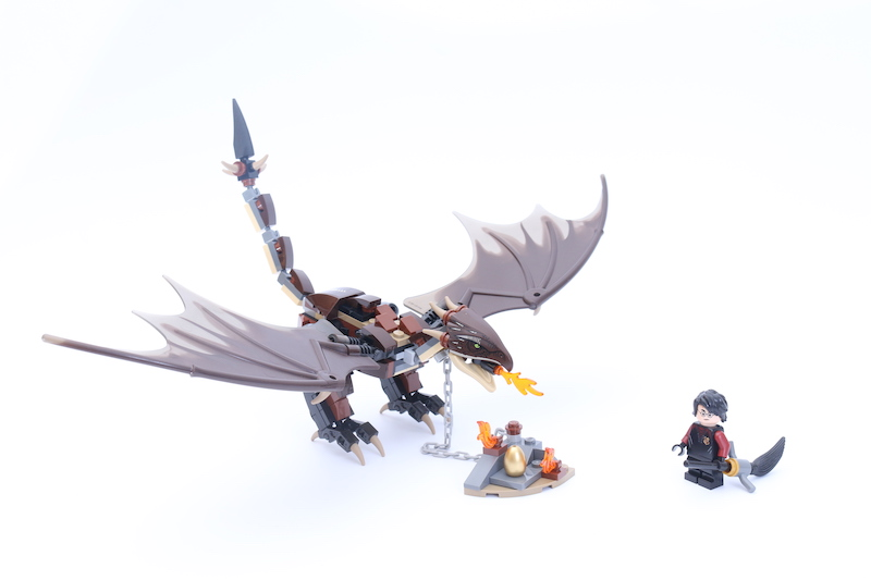 LEGO Harry Potter 75946 Hungarian Horntail Triwizard Challenge 1