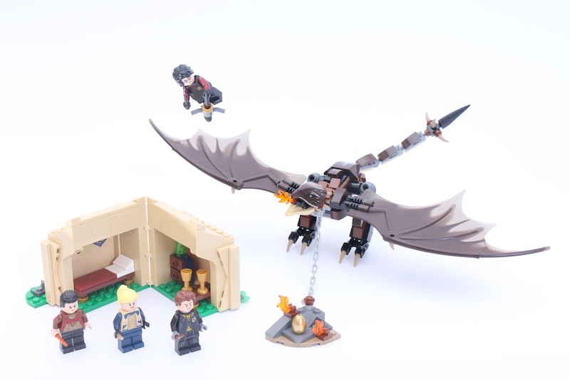 LEGO Harry Potter 75946 Hungarian Horntail Triwizard Challenge Main