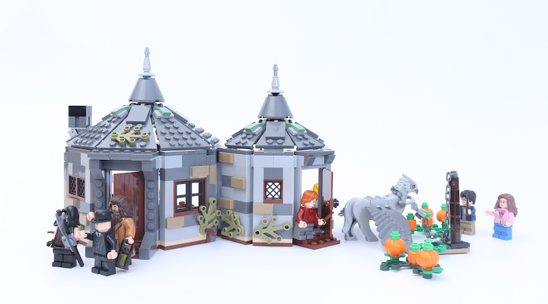 LEGO Harry Potter 75947 Hagrid's Hut Buckbeak's Rescue Title