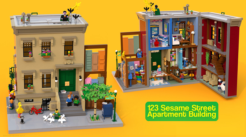 LEGO Ideas Sesame Street Featured 800 445