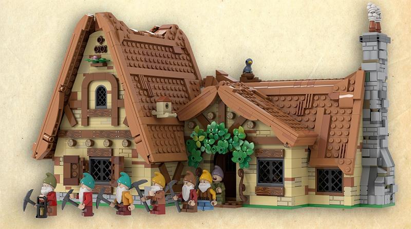 LEGO Ideas Snow White Dwarves Featured 800 445