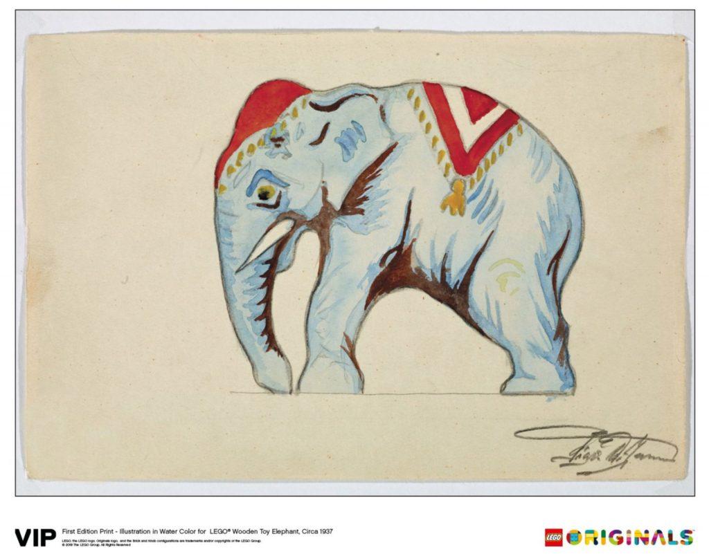 LEGO Originals Elephant 1024x801