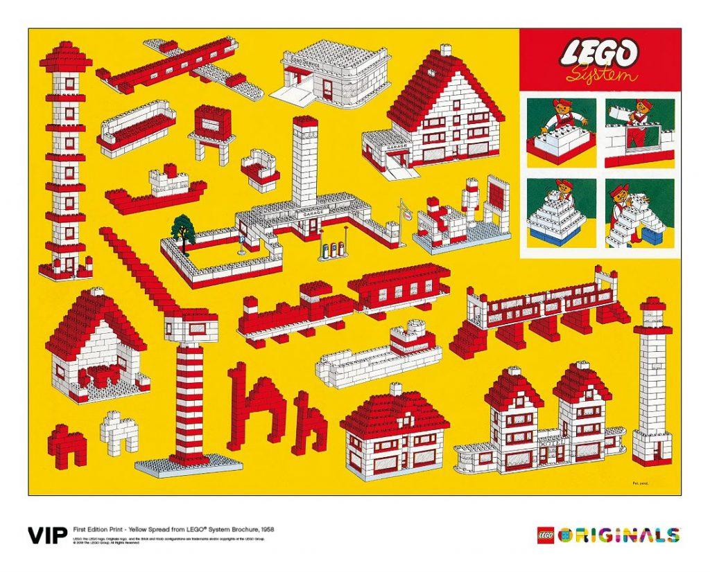 LEGO Originals Yellow System Brochure Spread