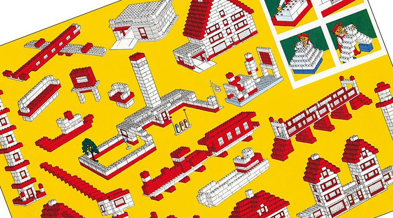 LEGO Originals Yellow System Brochure Spread featured 800 445
