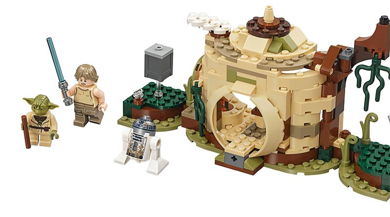 LEGO Star Wars 75200 Yoda Hut Featured 800 445