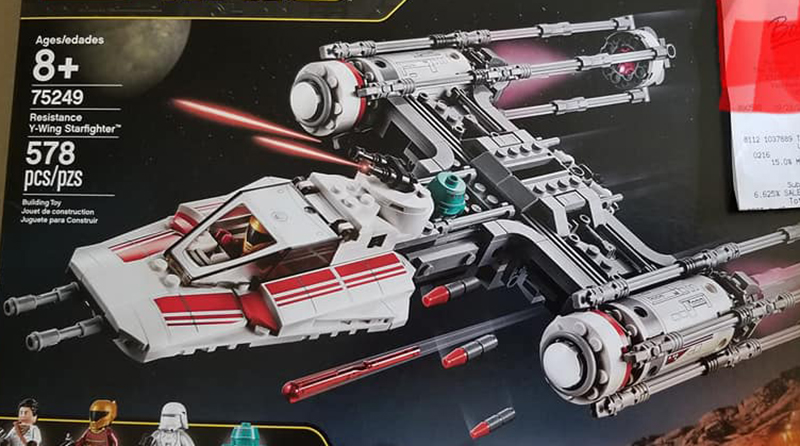 LEGO Star Wars 75249 Resistance Y Wing Starfighter Featured 800 445