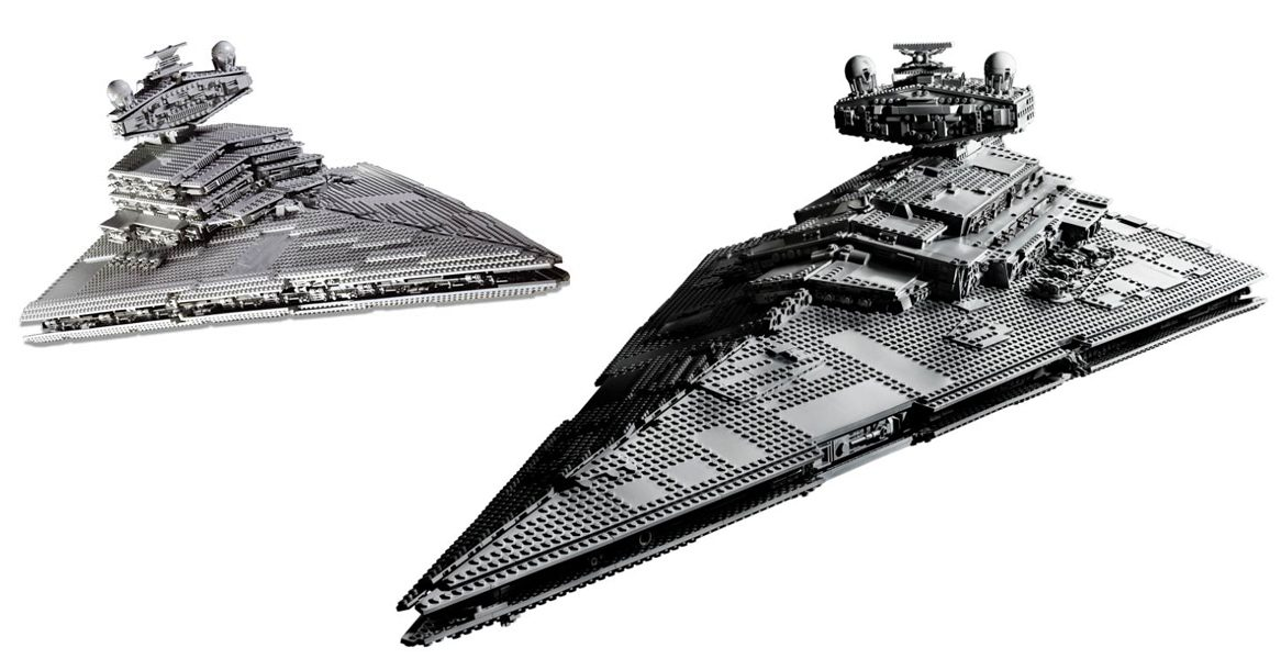 LEGO Star Wars 75252 Imperial Star Destroyer Comparison 1166x600