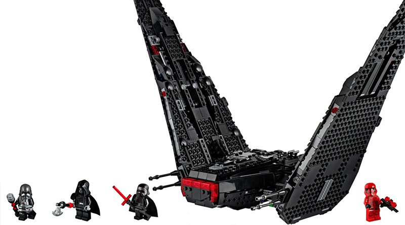 LEGO Star Wars 75256 Kylo Rens Shuttle 2 Featured 800 445