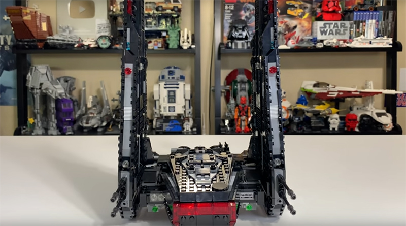 LEGO Star Wars 75256 Kylo Rens Shuttle Featured 800 445 1