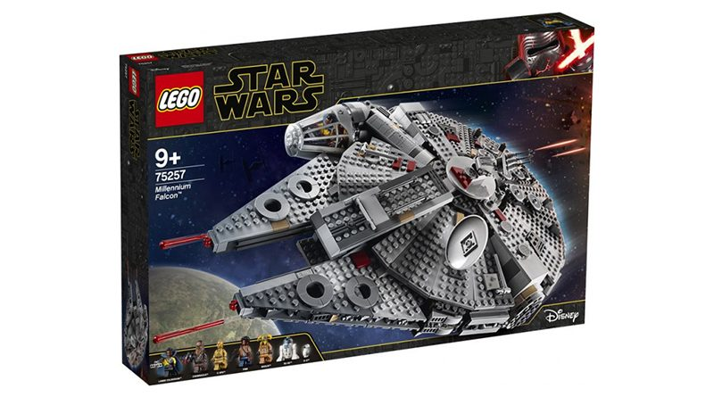 LEGO Star Wars The Rise Opf Skywalker 75257 Millennium Falcon Featured 800 445 800x445