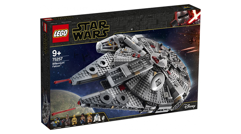 LEGO Star Wars The Rise Opf Skywalker 75257 Millennium Falcon Featured 800 445