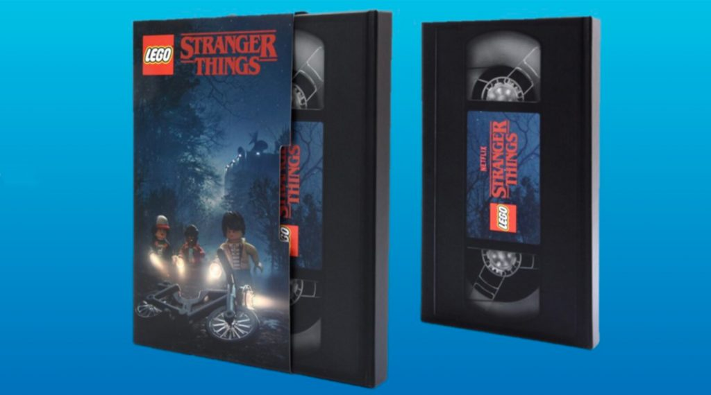 LEGO Stranger Things Notebook 1024x570