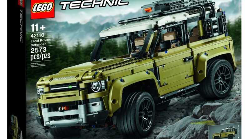 LEGO Technic 42110 Land Rover Defender 5 800x445