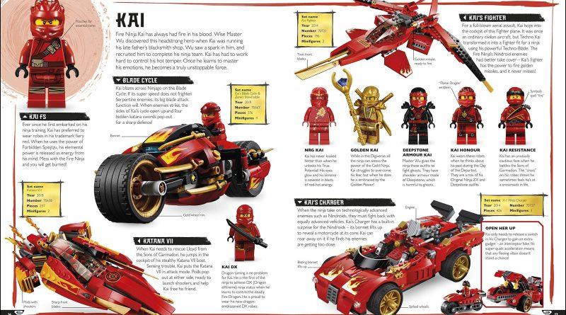 The LEGO NINJAGO Visual Dictionary New Edition 3 800x445