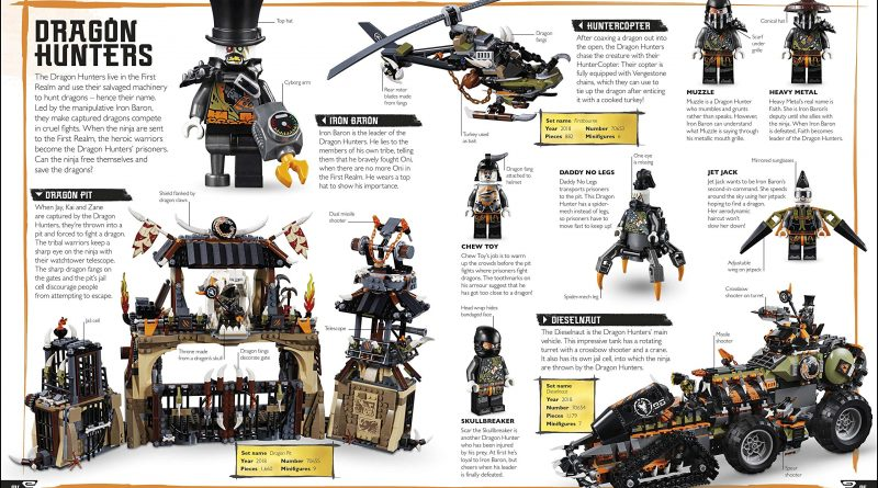 The LEGO NINJAGO Visual Dictionary New Edition 5 800x445