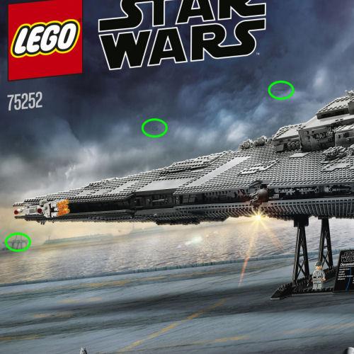 Lego Ucs 75252 Imperial Star Destroyer Box Rear 500