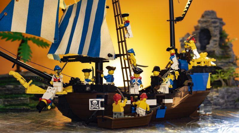 sunset battle on ship angle 1