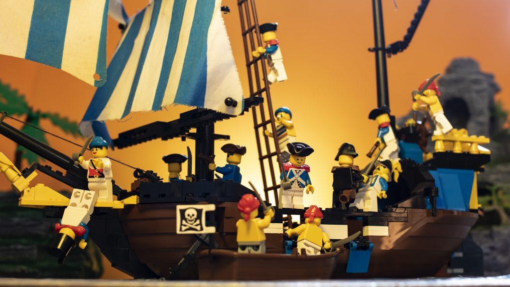 Sunset Battle On Ship Angle 2