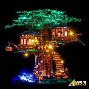 21318 LEGO Tree House Front Light My Bricks